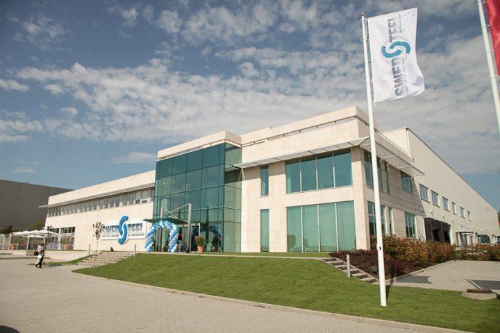 11,5 millió eurós beruházásból valósult meg a Swedsteel-Metecno első magyarországi gyára