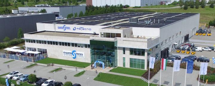 Új hazai gyártó az acél építőanyagok és csarnokrendszerek piacán