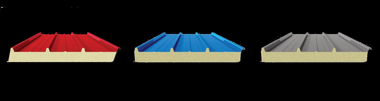 Swedsteel szendvicspanel tetőre